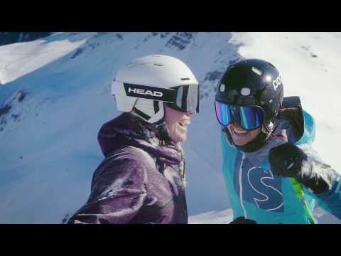 Skifahren am Flumserberg