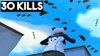 BEST POCHINKI DROP EVER! | 30 KILLS SOLO vs SQUAD | PUBG Mobile