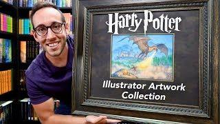 MY RARE HARRY POTTER ILLUSTRATOR ARTWORK COLLECTION