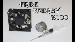 Enjektör Ile Sınırsız Elektirik Üretimi | FREE ENERGY