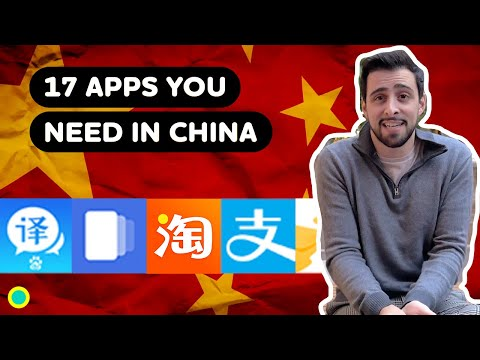 Life in China with Chinese Apps - 17 China apps & how to translate