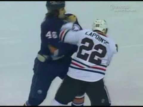 Zack Stortini vs. Martin Lapointe