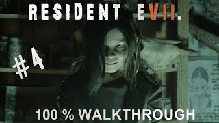 Resident Evil 7 100% Walkthrough Madhouse (All items,Coins,Mr Everywhere and Files) Part 4