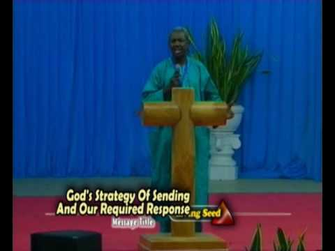 God's Strategy Of Sending And Our Required Response | Bro Gbile Akanni