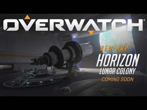 [COMING SOON] Horizon Lunar Colony | New Map Preview | Overwatch