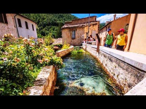 RASIGLIA il borgo delle acque - Umbria - 4K