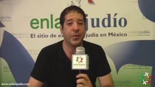 """Atto Attie, autor de """"Miscelanea El Deseo"""", en entrevista para Enlace Judío."""