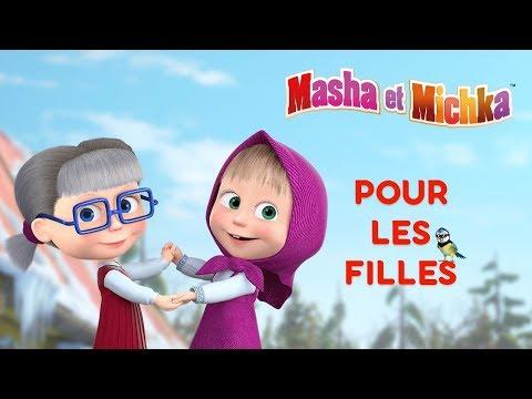 masha et michka      pour les filles      meilleurs dessins