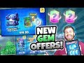 NEW GEM CHEST OFFERS! TRIPLE LEGENDARY TRADE TOKENS! | Clash Royale | MY WORST LOSING STREAK EVER!
