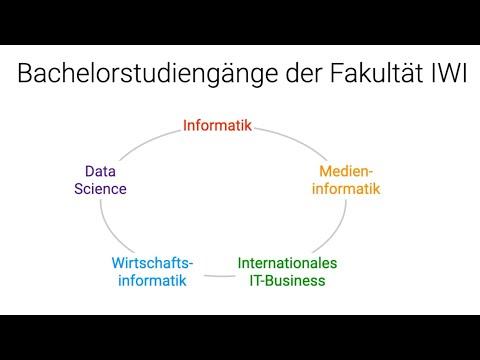 Vorstellung der Studiengänge an der Fakultät für Informatik und Wirtschaftsinformatik