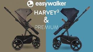 NEW Easywalker Harvey 3   2021 Pushchair Exclusive Demos   Harvey 3 & Premium