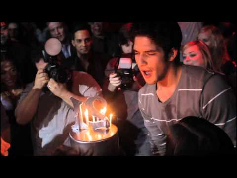 MTV's Teen Wolf, Tyler Posey, Celebrates 21st Birthday at Tryst Nightclub in Las Vegas