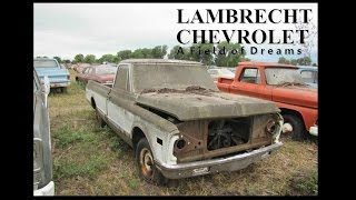 Lambrecht Field of Dreams 1972 Chevy Restoration