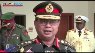 Bangladeshi Army boss speaks on why he came to Nigeria