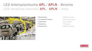 LED workplace luminaire APL-APLN
