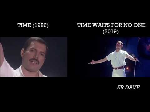 Freddie Mercury - Time/Time Waits For No One [SIDE-BY-SIDE]