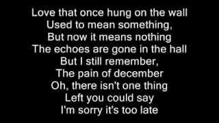Let Me Go - Avril Lavigne Ft Chad Kroeger ( Official Lyrics ) [HQ]
