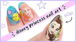 Incredible Disney Princess Nail Art Designs Compilation!