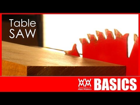 7 things to get you started using a table saw woodworking ba