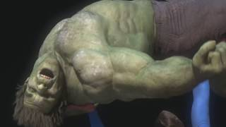 Making of Superman vs Hulk - The Fight (Part 4) - Draft #7