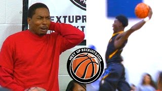 CRAZY POSTERS & REACTIONS At Next Up Recruits Event - Huntington Prep Vs Hargrave