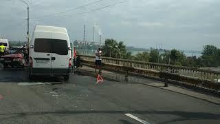 Жесть!!! Авария Днепр, Южный мост