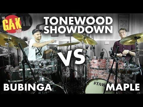 Tama | Bubinga Vs Maple | Tonewood Showdown
