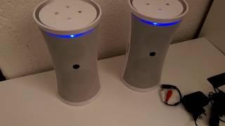 auna Tower 70 White Funklautsprecher-System