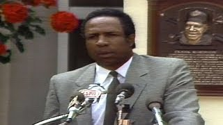 Frank Robinson Delivers Hall Of Fame Induction Speech