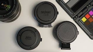 Sony A7III - Best Adapters For Video (Metabones, Sigma, & Commlite)