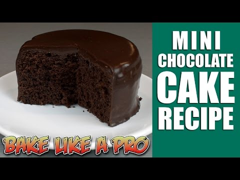 Video Easy Mini chocolate cake recipe