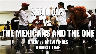 Sea Lions vs. The Mexicans And The One | Crew vs. Crew Finals | Rumble Time | #SXSTV