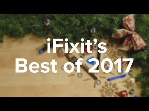 iFixit's Most Repairable Devices of 2017