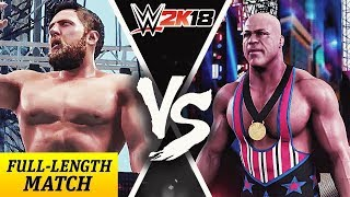 Daniel Bryan Vs Kurt Angle | Dream Match | WWE 2K18