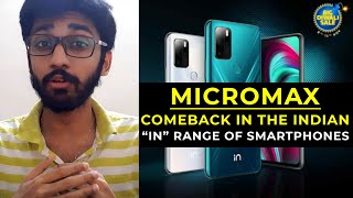 "Micromax Comeback In The Indian Smartphone Market With Its ""IN"" Range Of Smartphones 