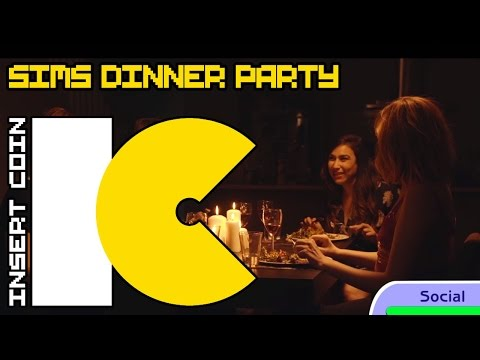What Sims Talk About During Dinner Parties
