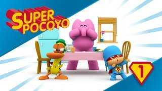 Super Pocoyo has become a Superhero of healthy food!
