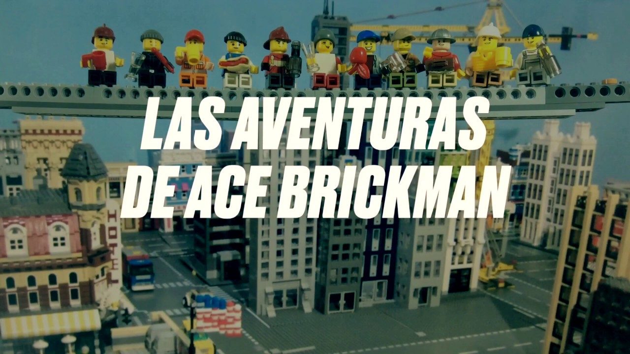 Ace Brickman Lego Movie - Trailer 2 - Stop Motion Lego Animation