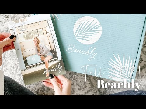 Beachly Unboxing Fall 2021
