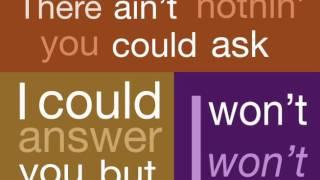 Aretha Franklin 'Think' Lyric Video