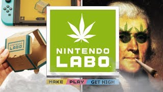 HIGH ON LABO - Nintendo Labo Gameplay