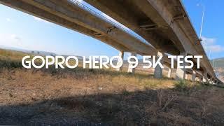 Gopro hero 9 - 5k test on a race drone