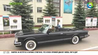 Москвичам показали кабриолет Шойгу  2015