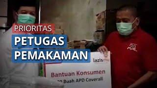 Terima Bantuan APD, Wali Kota Jakarta Barat Prioritaskan untuk Petugas Pemakaman