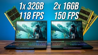 Speed Up Games With a 2nd Memory Stick! (Single vs Dual Channel)