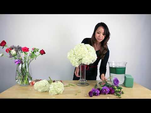 How To Make A Hydrangea Centerpiece Mp3