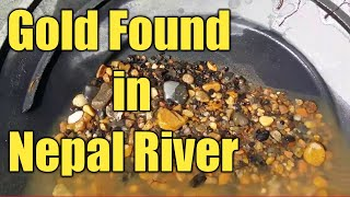 Gold Rush In Bank Of Nepali River
