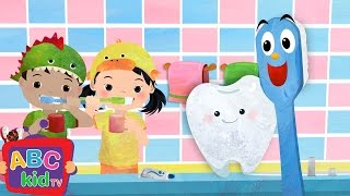 Brush Your Teeth | Cocomelon (ABCkidTV) Nursery Rhymes & Kids Songs