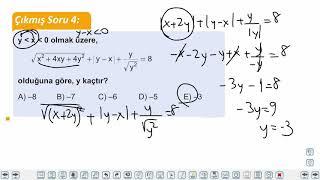 Eğitim Vadisi TYT Matematik 13.Föy Mutlak Değer 1 Konu Anlatım Videoları
