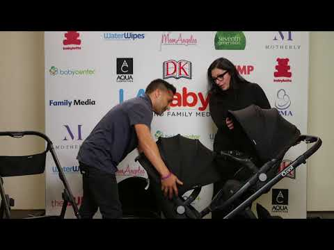 Naza Holliman of Sweet P and Sky & Tony Manis of Joovy Review the Brand New Joovy Qool Stroller